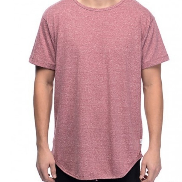 c7cd6c0a3f6 EPMT Other - EPTM basic elongated drop tail long tee in pink.